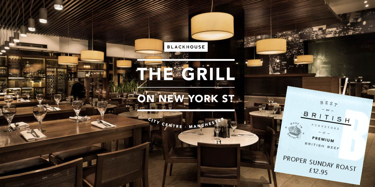 The Grill On New York Street Restaurant Manchester