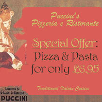 Puccinis Restaurant Manchester