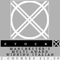Stock Award Winning Italian Restaurant Manchester