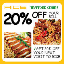 RICE Restaurant Trafford Centre